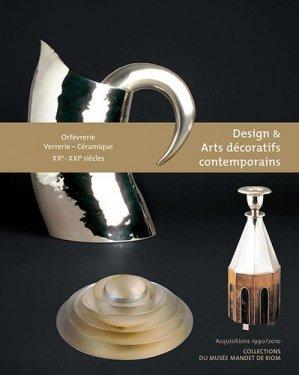 Design et Arts décoratifs contemporains - librairie des musées - 9782354040185 -