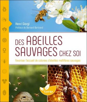 Des abeilles sauvages chez soi - de terran - 9782359811520 -