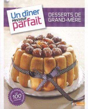 Desserts de grand-mère - m6  - 9782359850710 -