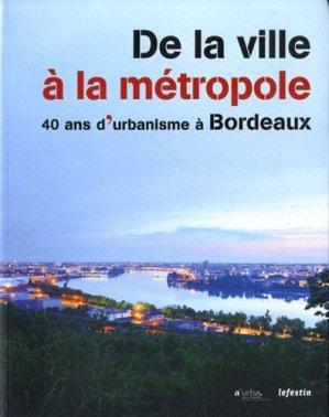 De la ville à la métropole - le festin editions - 9782360620357 -