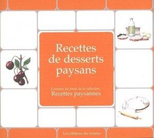 Desserts paysans - du curieux  - 9782366940138 -