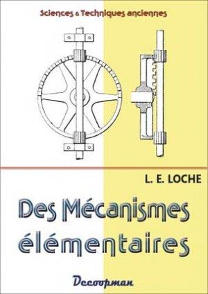 Des mécanismes élémentaires - decoopman - 9782369650027 -