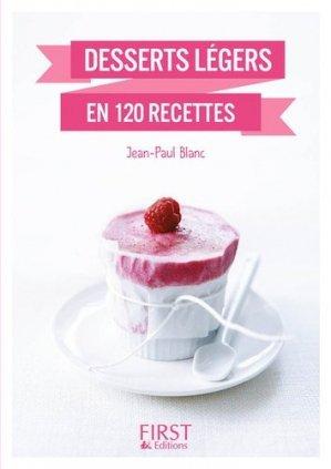 Desserts légers en 140 recettes - first editions - 9782412020753 -