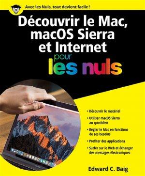 Découvrir le Mac, MacOS Sierra & Internet pour les nuls - first - 9782412020807 -