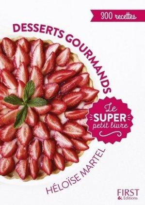 Desserts gourmands - first editions - 9782412030523 -