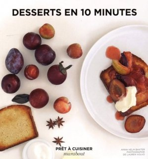 Desserts en 10 minutes - Marabout - 9782501109628 -
