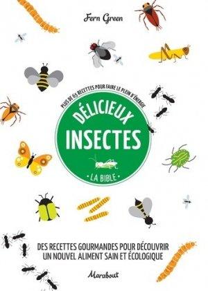 Délicieux insectes - marabout - 9782501136624 -