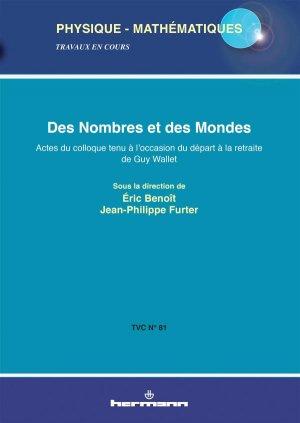 Des nombres et des mondes - hermann - 9782705683757 -