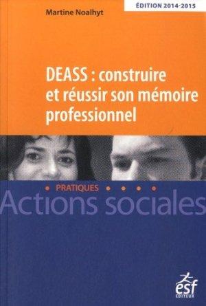 DEASS Construire et réussir son mémoire professionnel - esf - 9782710126645