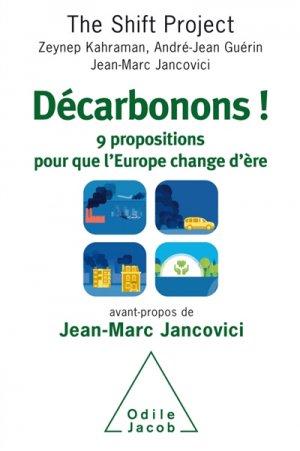 Décarbonons l'Europe! - odile jacob - 9782738138804 -