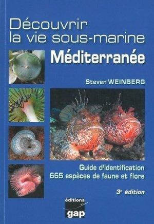 Découvrir la vie sous-marine Méditerranée - gap - 9782741706335 -