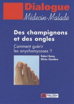 Des champignons et des ongles - John Libbey Eurotext - 9782742006120 -