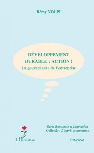 Développement durable : action - l'harmattan - 9782747598934 -