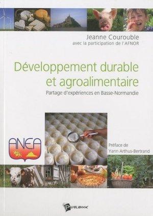 Développement durable et agroalimentaire - societe des ecrivains - 9782748351071 -