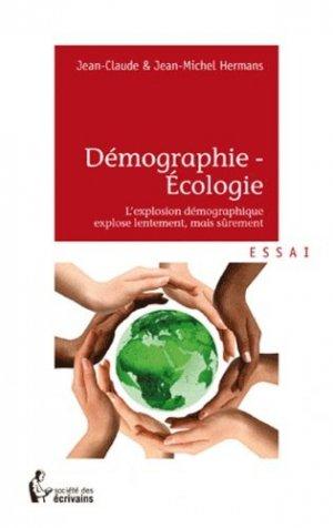Démographie - Ecologie - societe des ecrivains - 9782748367355 -