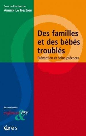 Des familles et des bébés troublés - eres - 9782749257785 -