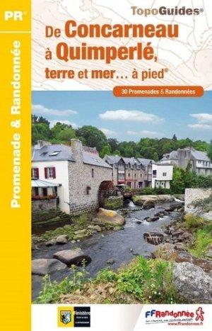 De Concarneau à Quimperlé, terre et mer...à pied - ffrandonnée - 9782751410536 -