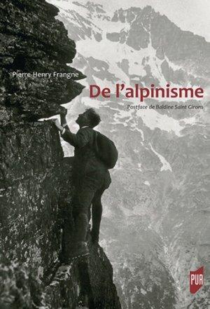 De l'alpinisme - presses universitaires de rennes - 9782753576186 -