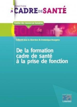 De la formation de cadre de santé à la prise de fonction-lamarre-9782757309780
