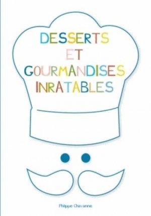 Desserts et gourmandises inratables - Studyrama - 9782759018598 -