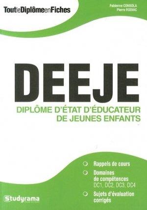 DEEJE - studyrama - 9782759025749