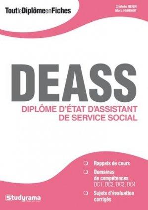 DEASS - studyrama - 9782759026241 -