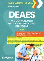 DEAES accompagnement de la vie en structure collective - studyrama - 9782759038008 -