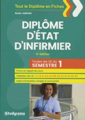 DEI - Diplôme d'Etat d'infirmier - studyrama - 9782759038039 -