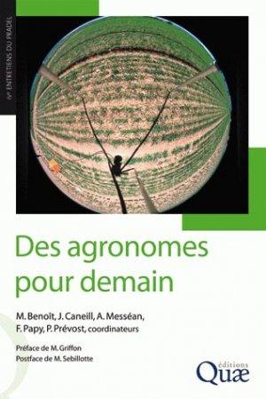 Des agronomes pour demain - quae  - 9782759201709 -