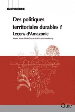 Des politiques territoriales durables ? - quae  - 9782759216413 -