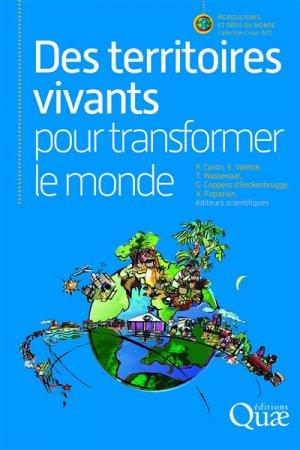 Des territoires vivants pour transformer le monde - quae - 9782759226542