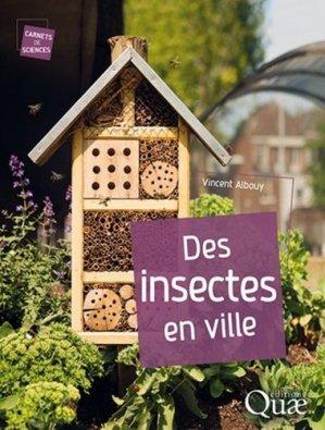 Des insectes en ville - quae - 9782759226733 -