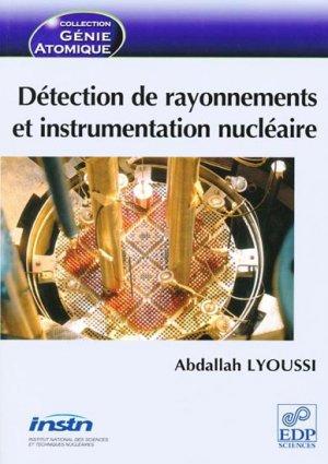 Détection de rayonnements et instrumentation nucléaire - edp sciences - 9782759800186 -