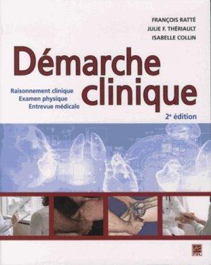 Démarche clinique - presses universitaires de laval - 9782763719023 -