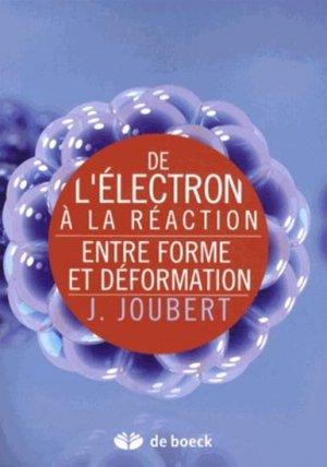De l'électron à la réaction - de boeck superieur - 9782804171865 -