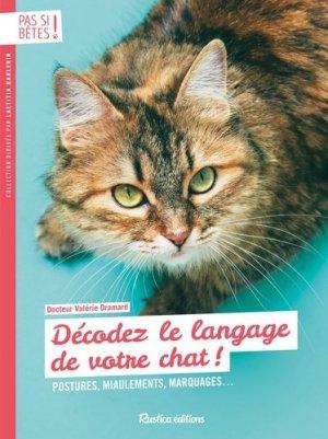 Décodez le langage de votre chat-rustica-9782815312066