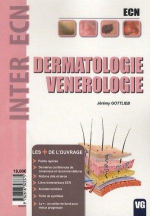 Dermatologie Vénérologie - vernazobres grego - 9782818303375 -