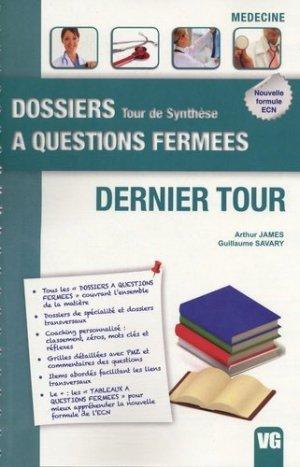Dernier Tour - vernazobres grego - 9782818304648 -