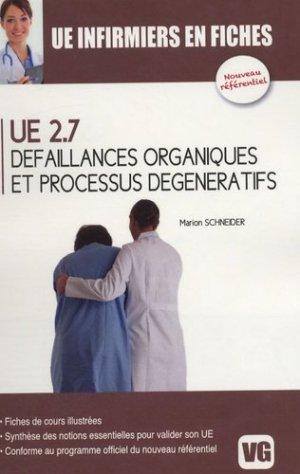 Défaillances organiques et procéssus dégénératifs UE 2.7 - vernazobres grego - 9782818304716 -