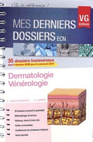 Dermatologie vénérologie - vernazobres grego - 9782818308356