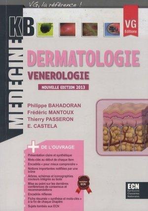 Dermatologie - Vénérologie - vernazobres grego - 9782818308684 -