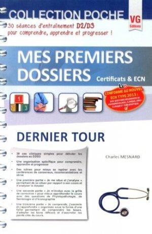 Dernier Tour - vernazobres grego - 9782818311202 -
