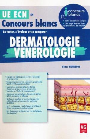 Dermatologie, vénérologie - vernazobres grego - 9782818314333 -