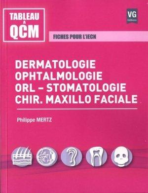Dermatologie, ophtalmologie, orl-stomatologie, chir.maxillo faciale - vernazobres grego - 9782818316443 -