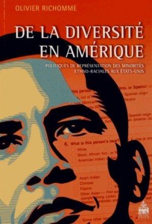 De la diversité en Amérique - publications de la sorbonne - 9782840508502 -