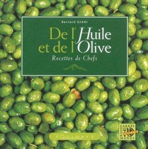 De l'huile à l'olive Recettes de chefs - equinoxe - 9782841352463 -
