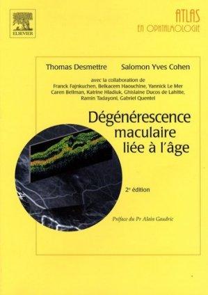 Dégénérescence maculaire liée à l'âge - elsevier / masson - 9782842999667 -