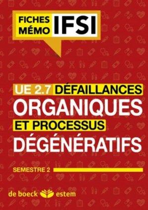 Défaillances organiques et processus dégénératifs - estem - 9782843717161 -
