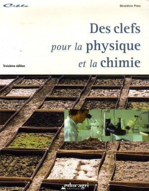 Des clefs pour la physique et la chimie - educagri - 9782844444516 -