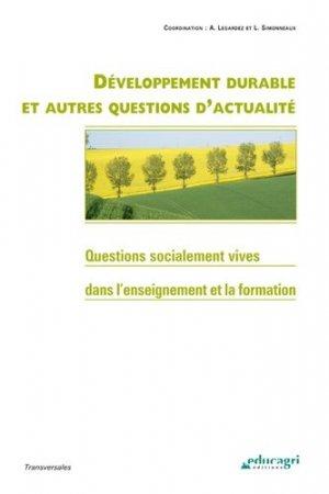 Développement durable et autres questions d'actualité - educagri - 9782844448415 -